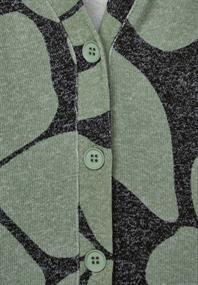 Shirtjacke mit Animal Print