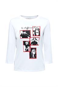 Statement-Shirt aus 100% Organic Cotton