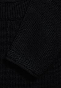 Strick-Pullover in Unifarbe