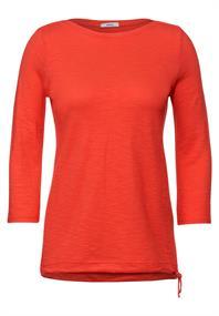 Strukturiertes Basic Shirt