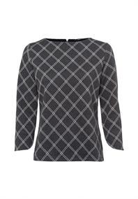 Sweatshirt mit Window Checks