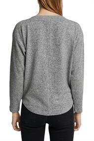 Sweatshirt mit Wrap-Detail