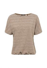 Sweatshirt Oversized Streifen