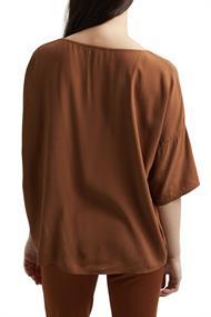 T-Shape Bluse aus LENZINGT ECOVEROT