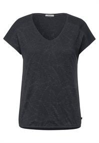 T-Shirt mit Burnout Optik