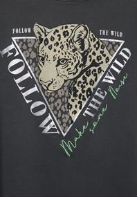 T-Shirt mit Leo-Motiv