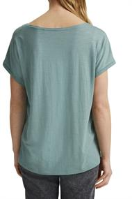 T-Shirt mit Organic Cotton/TENCELT