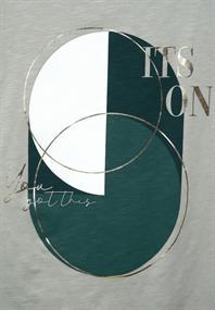 T-Shirt mit Partprint