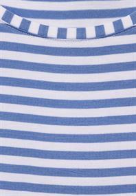 T-Shirt mit Streifen Muster