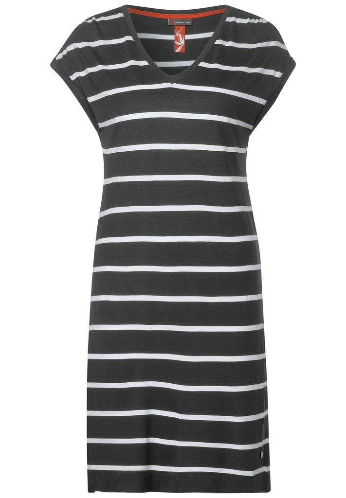 T-Shirtkleid mit Streifen