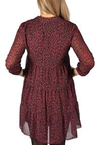 U&F Kleid mit Leo-Print