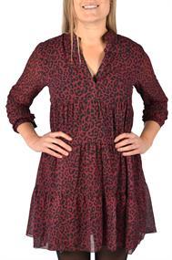 U&F Kleid mit Leoparden-Muster