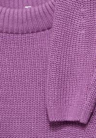 Uni Struktur-Pullover