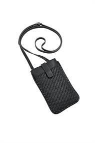 Vegan: Smartphone-Tasche in Lederoptik