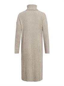 VIRIL ROLLNECK L/S SLIT KNIT DRESS/L