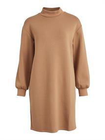 VISIF ROLL NECK L/S SWEAT DRESS