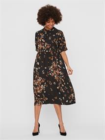 VMEA 2/4 CALF DRESS WVN