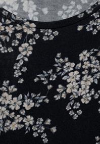 Weiches Blumenprint-Shirt