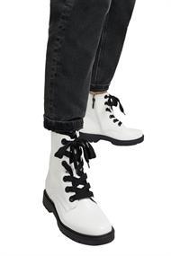 Worker Boots in Lackleder-Optik